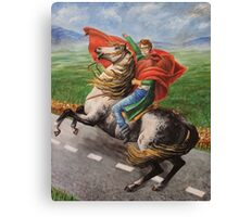Napolen Dynamite Crossing the Street Canvas Print