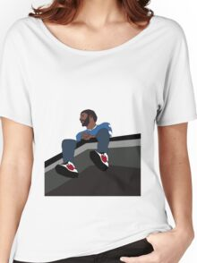 J.Cole 2014 Forest Hills Drive Women's Relaxed Fit T-Shirt