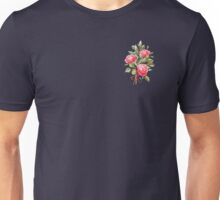 brick color bouquet of three roses T-Shirt