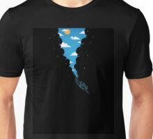 Diving skies Unisex T-Shirt