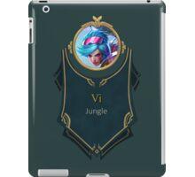 League of Legends - Vi Banner (Neon Strike) iPad Case/Skin