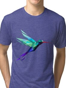 polygonal bird  Tri-blend T-Shirt