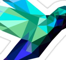 polygonal bird  Sticker