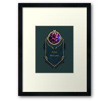 League of Legends - Ahri Banner (Challenger) Framed Print