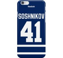 Toronto Maple Leafs Nikita Soshnikov Jersey Back Phone Case iPhone Case/Skin