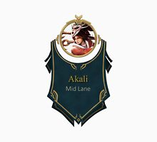 League of Legends - Akali Banner (Bloodmoon) Unisex T-Shirt