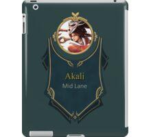 League of Legends - Akali Banner (Bloodmoon) iPad Case/Skin