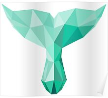 polygonal tail Poster