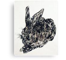 Bunny print v.1 Canvas Print