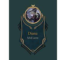 League of Legends - Diana Banner Photographic Print