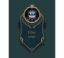 League of Legends Elise Banner (Victorious) Photographic Print