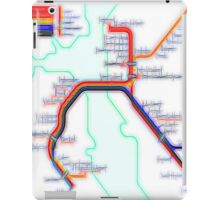 San Francisco BART Map iPad Case/Skin