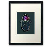 League of Legends - Fizz Banner (Void) Framed Print