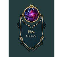 League of Legends - Fizz Banner (Void) Photographic Print