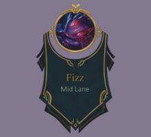 League of Legends - Fizz Banner (Void) Kids Tee