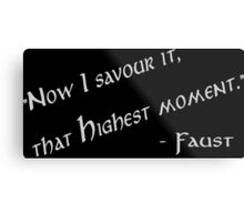 Highest Moment Metal Print