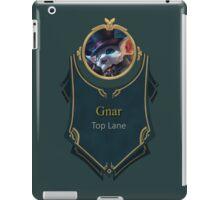 League of Legends - Gnar Banner (Gentleman) iPad Case/Skin
