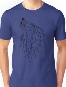polygonal wolf  Unisex T-Shirt