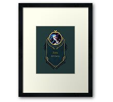 League of Legends - Jinx Banner Framed Print