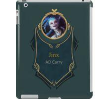 League of Legends - Jinx Banner iPad Case/Skin