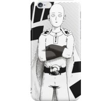 Caped Baldy Saitama iPhone Case/Skin