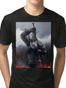 The Witcher III Work Geralt :) Tri-blend T-Shirt