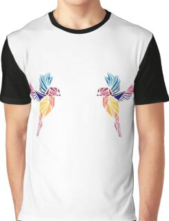 polygonal birds Graphic T-Shirt