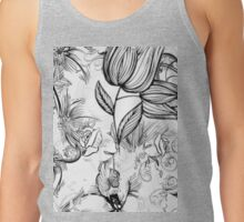 Floral Fade Out Tank Top