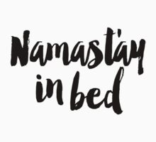 Namastay In Bed One Piece - Long Sleeve