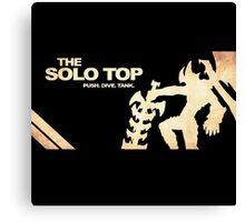 Solo Top Lane | Logo | High Quality  Canvas Print