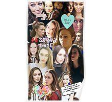 Alycia Debnam Carey Collage Poster