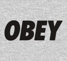 OBEY Logo  Kids Tee