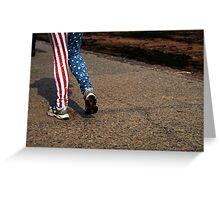 American Strut Greeting Card