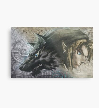 Link From Twilight Princess ! :) Metal Print