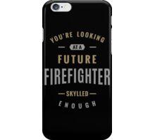 Future Firefighter iPhone Case/Skin