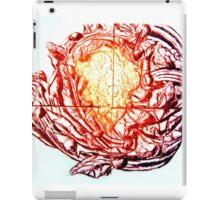 Califlower print (red version) iPad Case/Skin