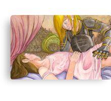 Sleeping Princess Canvas Print