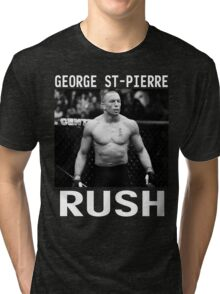 George St-Pierre Signature [FIGHT CAMP] Tri-blend T-Shirt