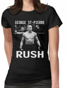 George St-Pierre Signature [FIGHT CAMP] Womens Fitted T-Shirt