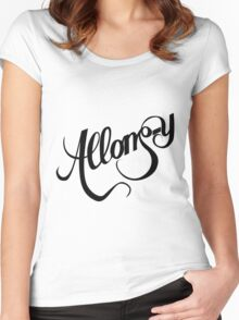Allons-y - Doctor Who Women's Fitted Scoop T-Shirt