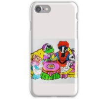 MRS.  FROGS TEA PARTY iPhone Case/Skin