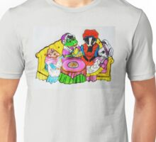 MRS.  FROGS TEA PARTY Unisex T-Shirt