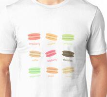 Yummy Macaroons Unisex T-Shirt