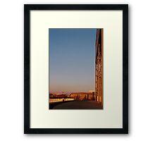 'Sunset' Framed Print
