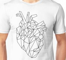 polygonal heart Unisex T-Shirt