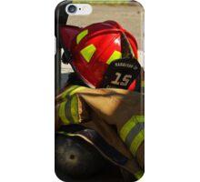 Turnout Gear Pile iPhone Case/Skin