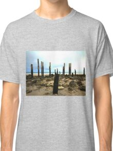 Just the bare bones at Port Willunga Jetty Classic T-Shirt