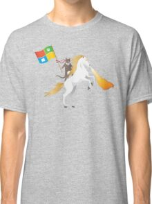 Ninja Cat Unicorn Classic T-Shirt