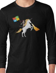 Ninja Cat Unicorn Long Sleeve T-Shirt