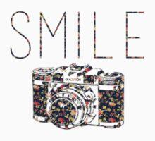 """Smile"" Vintage Camera One Piece - Long Sleeve"
